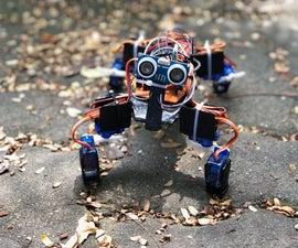 4 Leg - 8 Servo Arduino Walking Robot