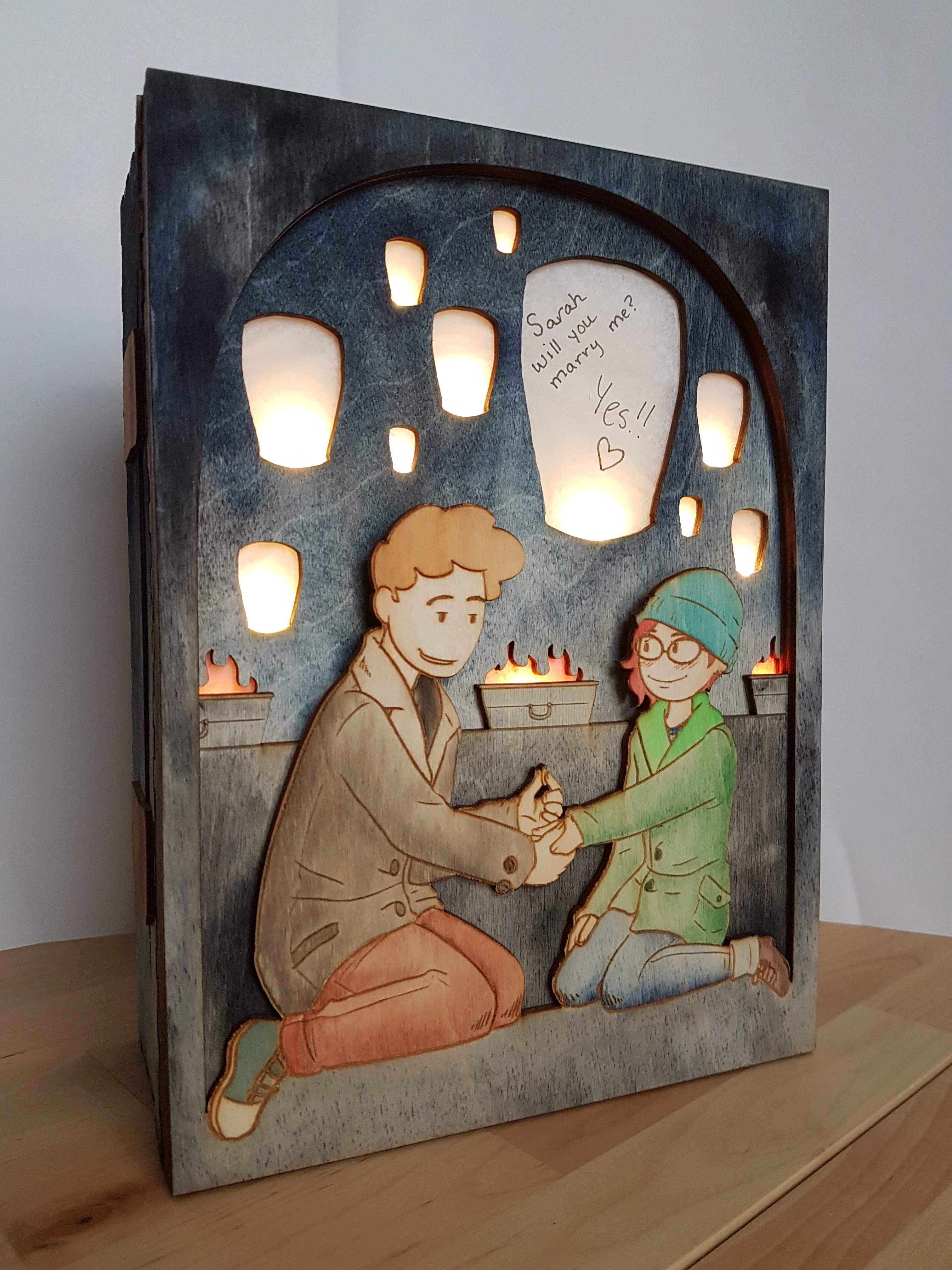 Picture of Light Up Picture Box