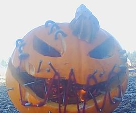 How to Make a Spooky Pumpkin.