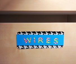 How to Make Duct Tape Labels and Decals
