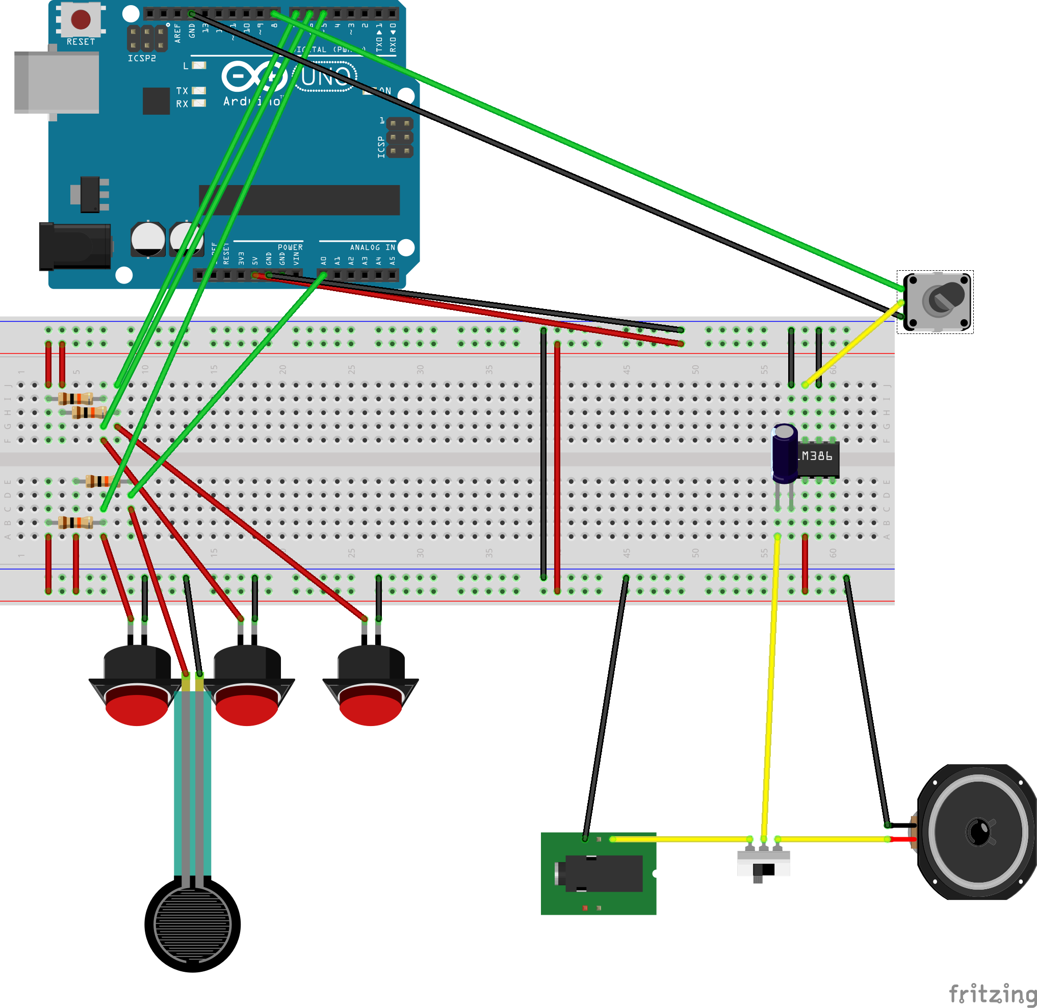 Picture of Solder Your Circuit and Upload the Sketch