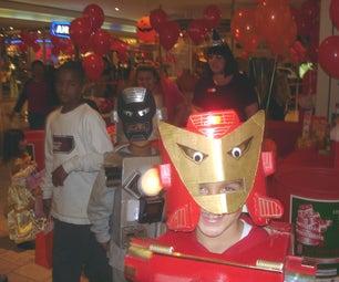Cardboard Iron Man Costumes on a Budget