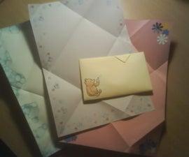 Mennonite Letter Fold