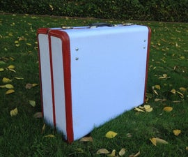 Suitcase Picnic Table