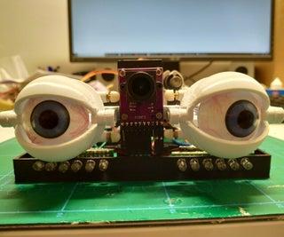 Motion Follow Animatronics Eyes