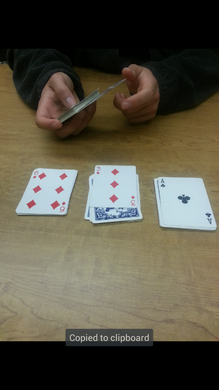Picture of Second Trick: Guess the Card
