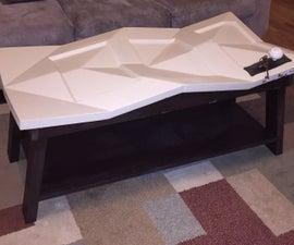 Tessellated Optical Illusion Coffee Table!!