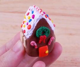 Diy Miniature Gingerbread House