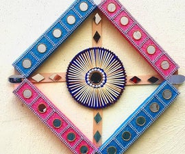How to Make a Wall Hanging Craft Using Matchbox?