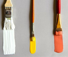 3 Ways to Clean Paint Brushes
