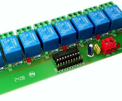 8-Channel Relay Interface Board : 5 Steps - Instructables on