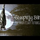 Polymer Clay Sleeping Bat Halloween Tutorial | Velvetorium