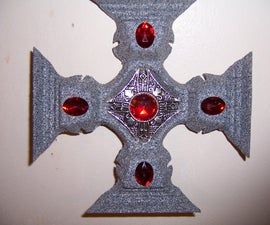Cupholder Gothic Cross