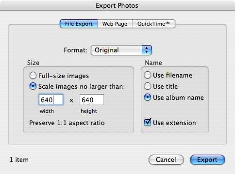 Picture of Exporting