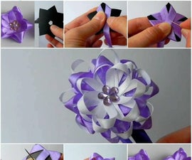 Making Flowers With Ribbon