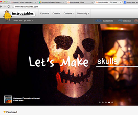 Create an Instructable