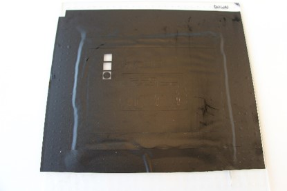 Picture of Stencil Mask for Top Conductive Layer