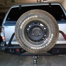 Jerry Can Holders for FabFours Spare Tire Carrier