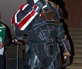 Making Mass Effect Armor Out of Foam