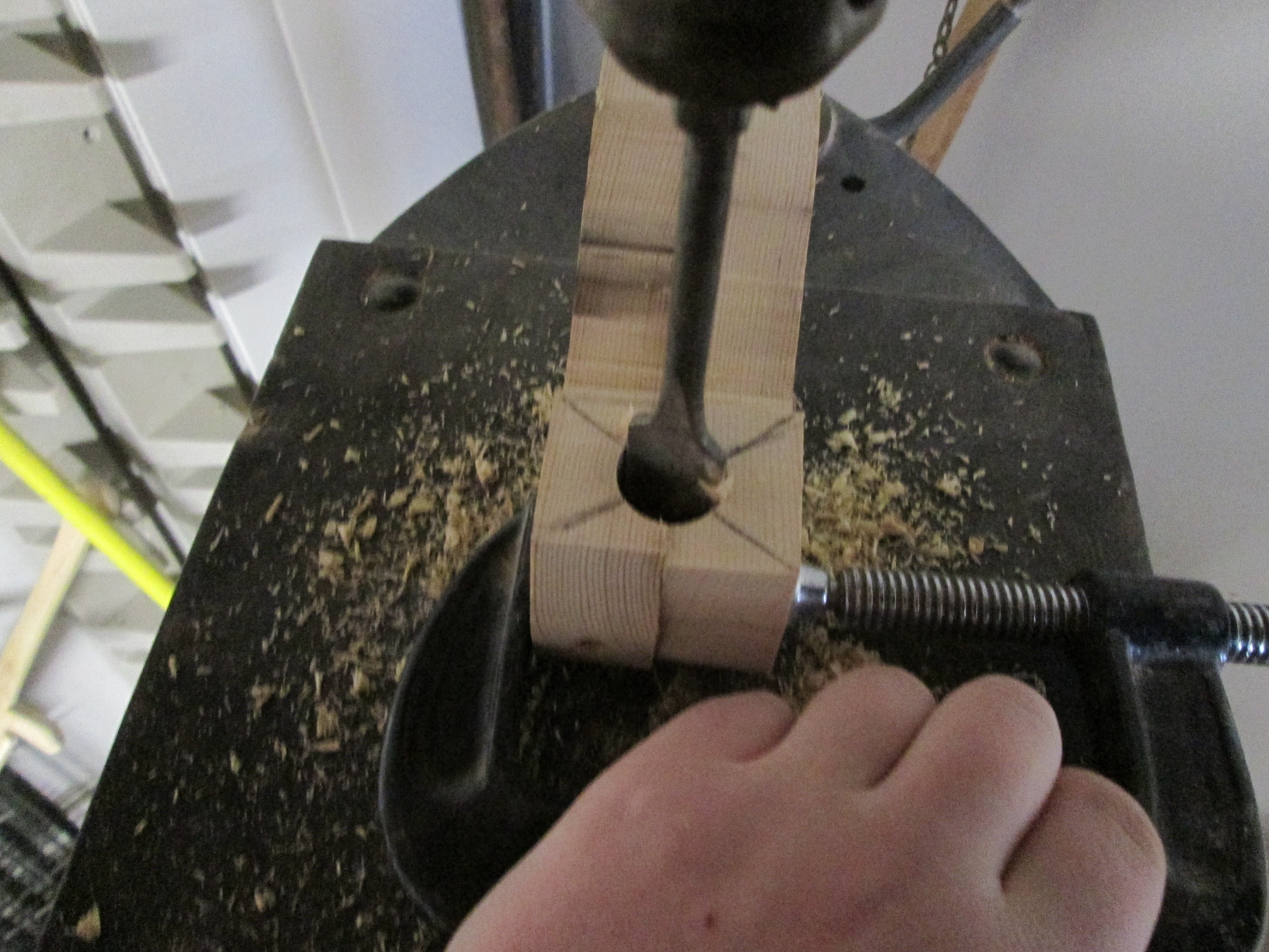 Picture of Drilling the Bowl