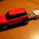 1 Gig Flash Drive Mini Cooper