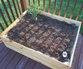 Sub Irrigation Planter Box