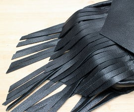 How to Make Leather Fringe