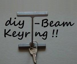 I-Beam Keyring