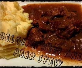 Slow cooker belgian beef and beer stew