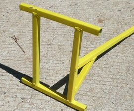 Vintage motorcycle stand