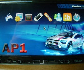 How to put AP1 portal on your PSP