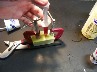 Using the Mold to Cast the Tarfigrade
