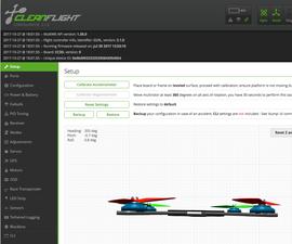 Flash CC3D With CleanFlight