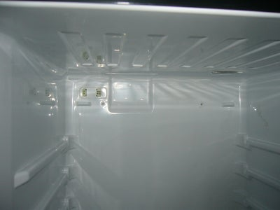 Clear Out the Freezer and Fridge and Remove Fridge Electronics