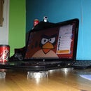 how to raise up your laptop using k'nex rubber tyres to improve air circulation underneath