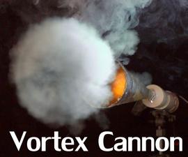 High Velocity Vortex Cannon - Aerosol Fuelled