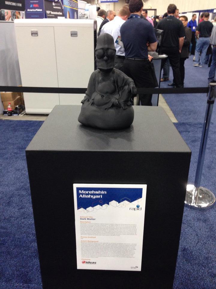 3D Printing Mash-up Sculptures Using Maya + UPrint/Mojo