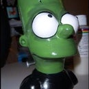 How To: Frankenstein-Mod your Bart Simpson Chia Pet
