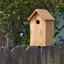 Cedar Blue-Bird Birdhouse