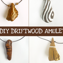 Driftwood Amulet Necklace