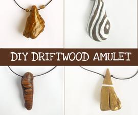 Driftwood Amulet Necklace