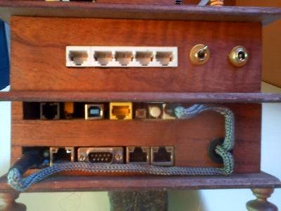 Rear Side and Power Supply