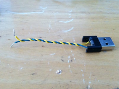 Solder USB Connector Charging Leads