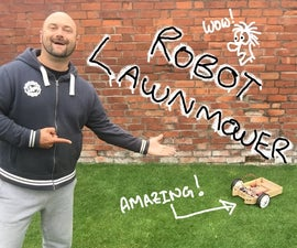 Arduino Controlled Robot Lawnmower - Ultrasonic and RGB Sensors - Howard Taylor Robot Lawnmower - YouTube