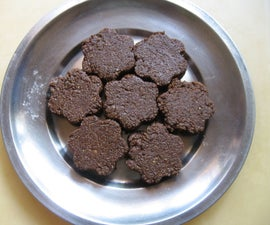 Four Ingredients Gluten Free Sesame Seed Cookies