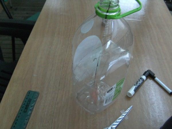 Plastic Bottle Desalination