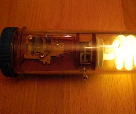Emergency light with steampunk technology