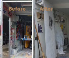 Renovate a Community Paint Booth