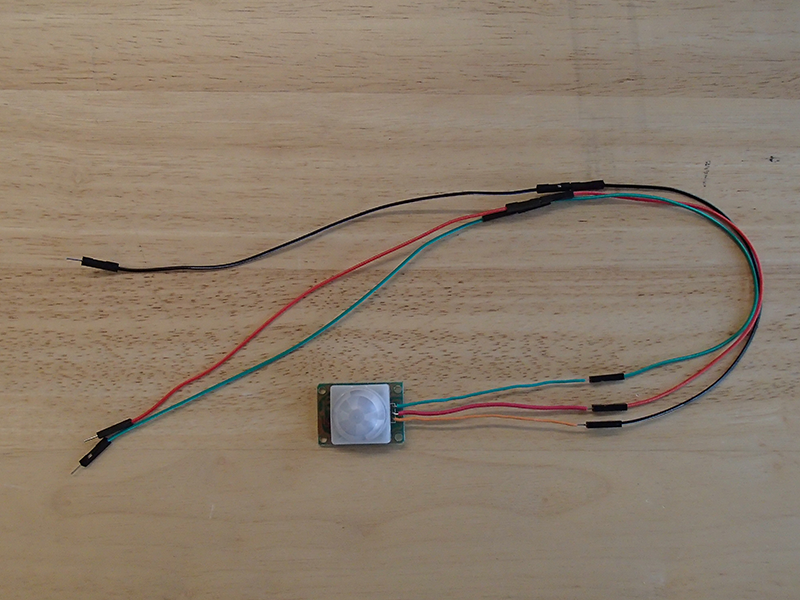 Picture of Connect the Motion Sensor