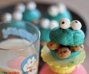 Double Cookie Cookie Monster Cookies!